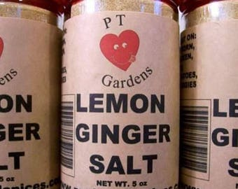 Lemon Ginger Salt Recipe