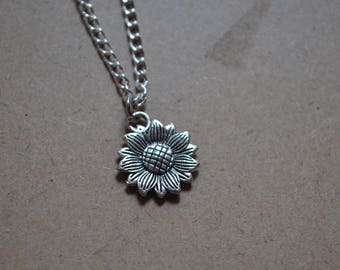 Sunflower Necklace - Personalisation Available