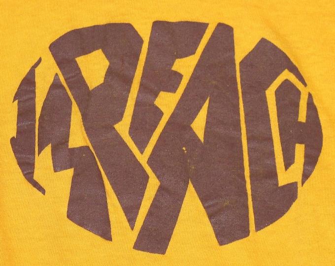 2XS * vtg early 70s IMPEACH t shirt * XXS * 100.4
