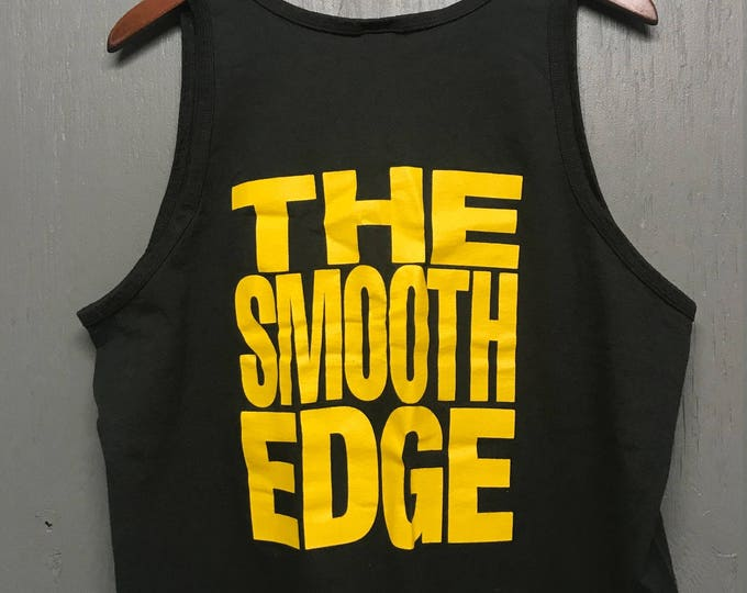 XL vintage 90s Black & Gold tank top t shirt * cigarette cigar