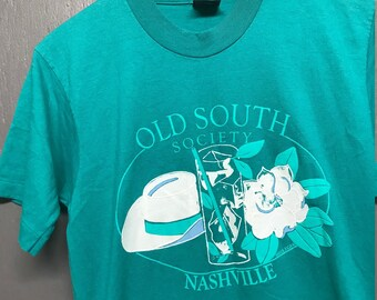 S vintage 90s Old South Society Nashville screen stars t shirt