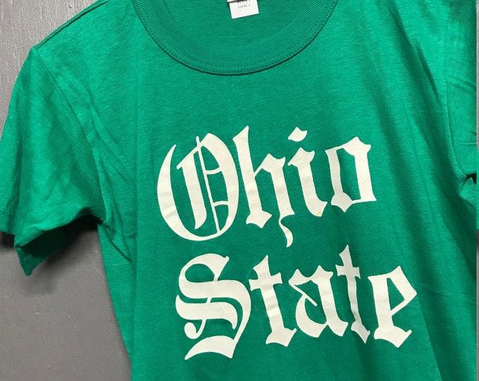 S nos vtg 70s Ohio State Buckeyes t shirt