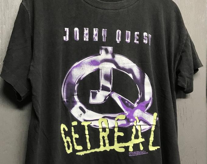 XL vintage 90s 1996 Jonny Quest cartoon tv show t shirt * Johnny