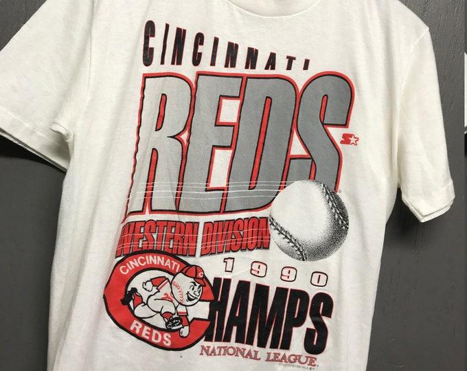 M vintage 1990 Cincinnati Reds t shirt