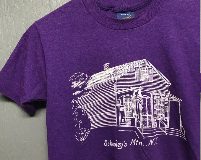 XS vtg 80s Schooley's Mountain New Jersey t shirt * mtn