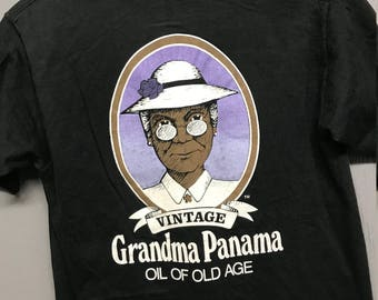 S vintage 80s Myrtle Beach Grandma Panama jack style t shirt