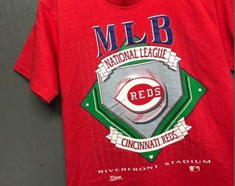 M vintage 90s 1993 Cincinnati Reds t shirt