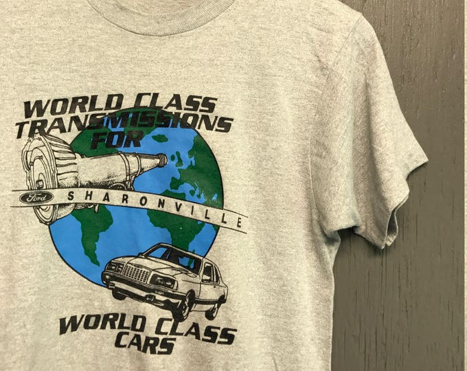 S vintage 80s Ford transmission Sharonville OH screen stars t shirt