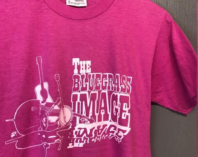 S vintage 80s The Bluegrass Image t shirt