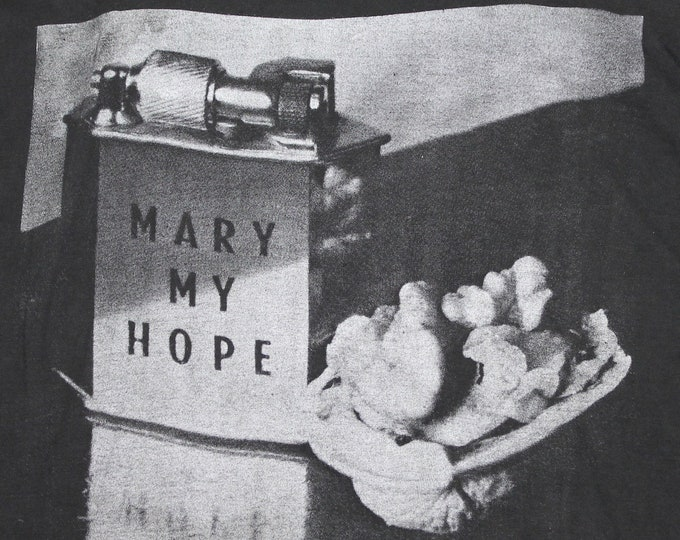 L * vtg 80s 1989 Mary My Hope museum t shirt * 98.13