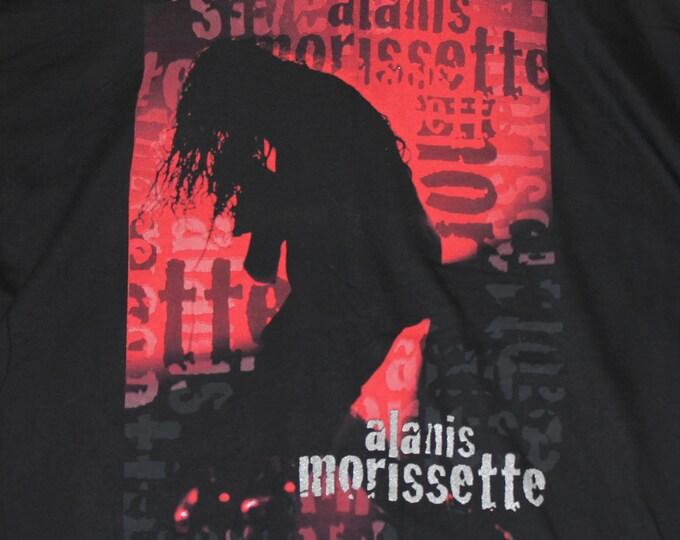 XL * vtg 90s 1996 Alanis Morisette jagged little pill t shirt * 9.145