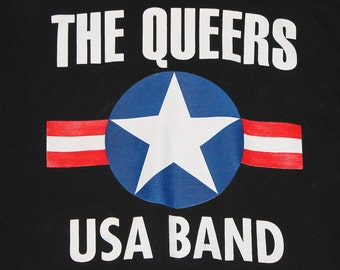 XL * vtg 90s The Queers lookout records punk t shirt * 84.91
