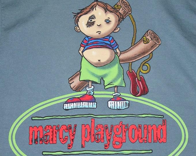 M * vtg 90s 1998 Marcy Playground tour t shirt * 100.11