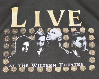 XXL * NOS vtg 90s 1997 LIVE secret samadhi concert tour t shirt * Wiltern Theatre ed kowalczyk band * 98.9