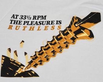 M * vtg 80s 1986 Ruthless People promo movie soundtrack sweatshirt * shirt danny devito bette midler * 48.150