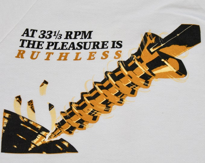 M * vtg 80s 1986 Ruthless People promo movie soundtrack sweatshirt * shirt danny devito bette midler * 48.150