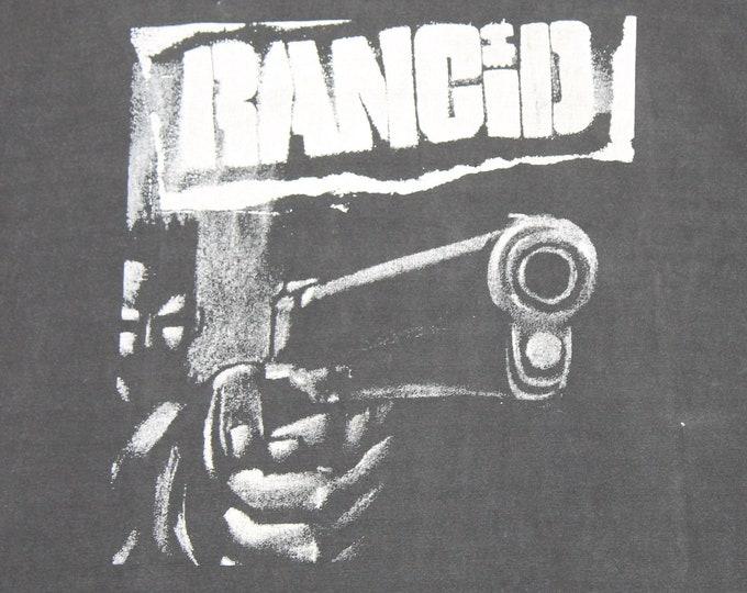 XL * vtg 90s 1993 Rancid S/T album euro tour t shirt * 96.20