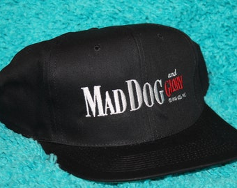 NOS vtg 90s 1993 Mad Dog and Glory movie promo snapback hat * bill murray robert de niro