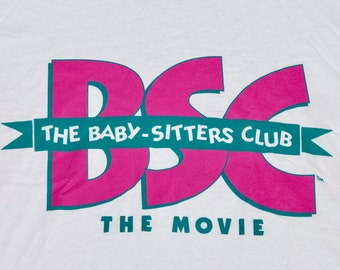 XL * NOS vtg 90s 1995 The Baby Sitters Club movie promo t shirt * screen stars * 99.25