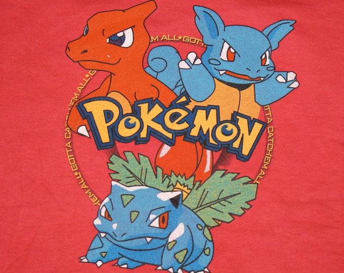 S * NOS vtg 90s Pokemon gotta catch em all t shirt * 40.152