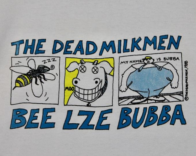 XL * vtg 80s 1989 The Dead Milkmen beelzebubba tour t shirt * punk * 24.175