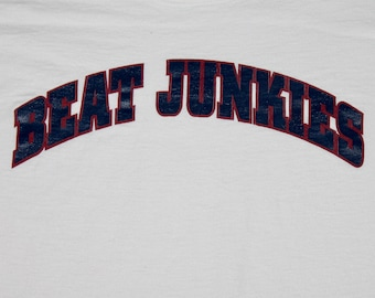 XXL * vtg 90s Beat Junkies t shirt * rap hip hop dj * 14.158