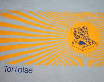 XL * vtg 90s Tortoise band t shirt * slint bonnie prince billy the sea and cake * 62.166