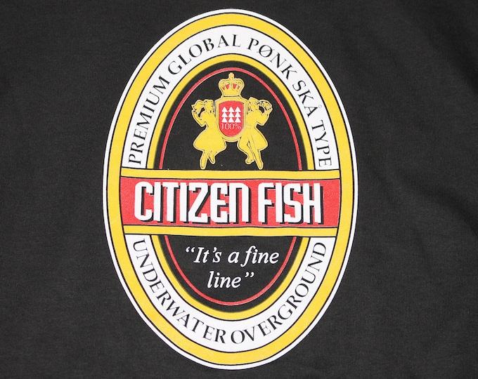 XL/XXL * NOS vtg 90s Citizen Fish t shirt * subhumans punk ska * 27.179