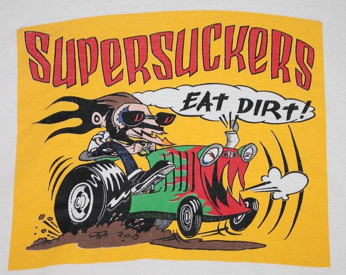 XL * vtg 90s SUPERSUCKERS t shirt * 100.1