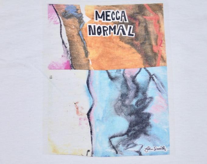 L * vtg 90s Mecca Normal t shirt * indie riot grrrl k records matador kill rock stars * 58.160