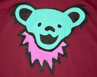 XL * NOS vtg 90s Grateful Dead bear t shirt