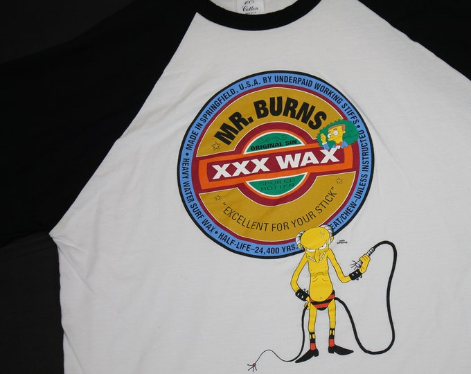 L/XL * vtg 90s The Simpsons Mr Burns s&m sex bdsm * 5.137