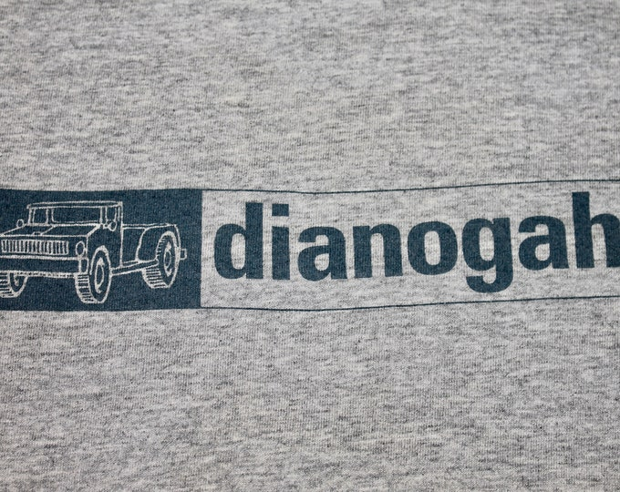 XL * vtg 90s single stitch DIANOGAH t shirt * 58.165 band tour indie actionboy southern records