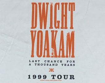 XL * nos vtg 90s 1999 Dwight Yoakam tour t shirt * country music