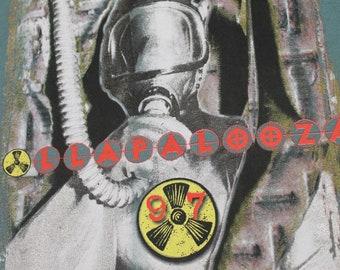 XL * NOS vtg 90s 1997 Lollapalooza tour t shirt * tool korn tricky snoop dogg * 6.162