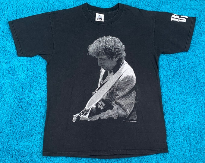 L * vtg 90s 1994 Bob Dylan t shirt * concert tour * 56.153