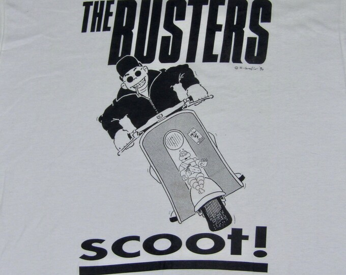 XL * NOS vtg 90s The Busters t shirt * ska * 38.168