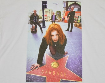 XL * vtg 90s 1996 Garbage tour t shirt * shirley manson * 28.166