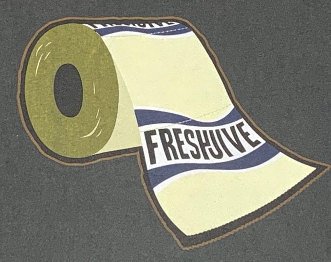 XL/XXL * vtg 90s FreshJive t shirt * streetwear skateboard rave surf * 94.67