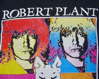 M * faded vtg 1990 Robert Plant tour t shirt * led zeppelin * 7.173
