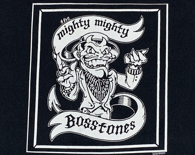 L * vtg 90s 1997 The Mighty Mighty Bosstones tour t shirt * ska punk * 69.147