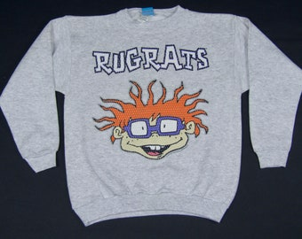 XS/XXS * NOS vtg 90s 1997 Rugrats crewneck sweatshirt * tv show nickelodeon cartoon shirt * 44.184