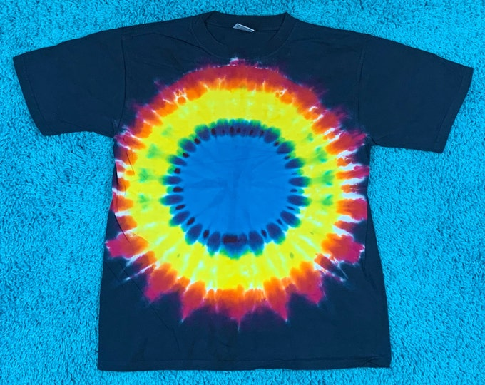 M * nos vtg 90s tie dye t shirt * 47.171