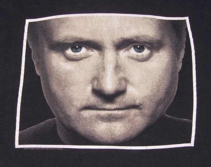 XL * vtg 90s 1994 Phil Collins tour t shirt * genesis * 12.177