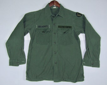 M * vtg 90s BUSH band army shirt * official merch tour gavin rossdale