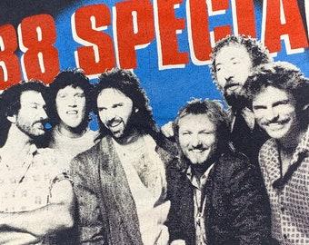 M/L * vtg 80s 1986 38 Special tour t shirt * southern rock lynyrd skynyrd * medium large * 24.198