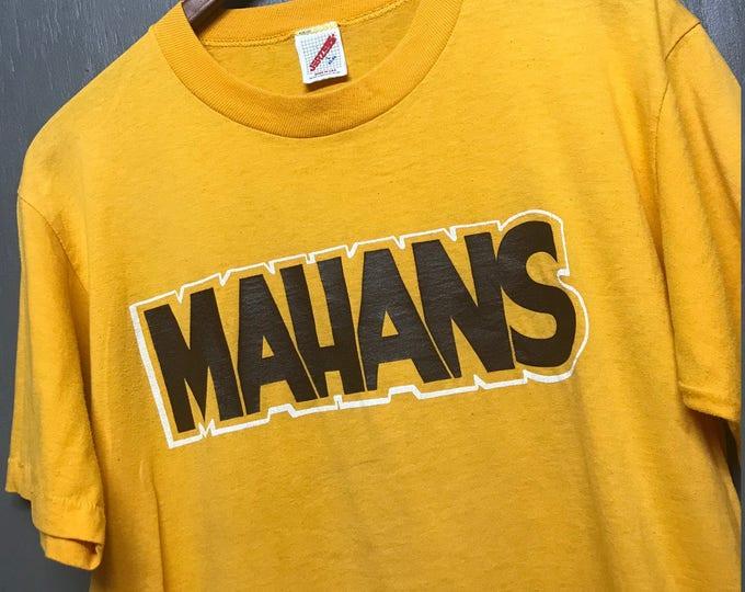 L vintage 80s Mahans t shirt * mahan