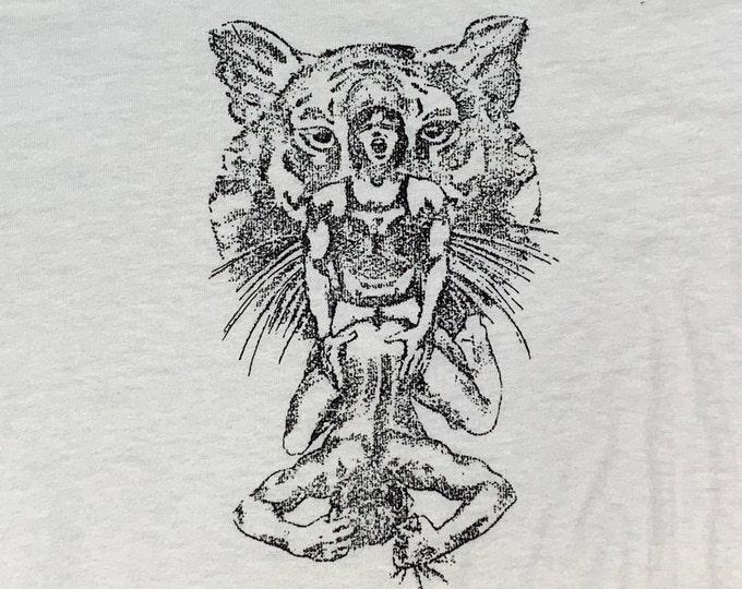 S * vtg 70s / 80s Gay Sex ringer t shirt * 27.194