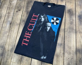XL * vintage The Cult Ceremony tour t shirt * cermonial stomp 1991 1992 * 36.177