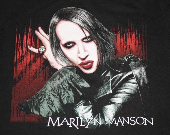 L/XL * vtg Marilyn Manson t shirt * 50.143